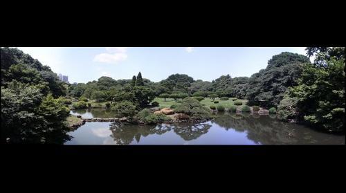 View from the Taiwan-Kaku Pavilion in Tokyo