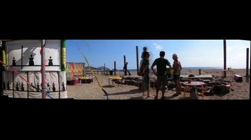 Final de fiesta de cierre de verano en la jaima de los escullos