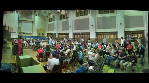8th Grade Awards Ceremony GigaPan # 2