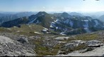 Hochschwab summit in the Styrian Alps, Austria
