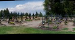 Friedhof Petersberg, Sdtirol, Italy