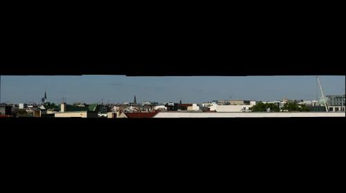 Roof Panorama Berlin Mitte