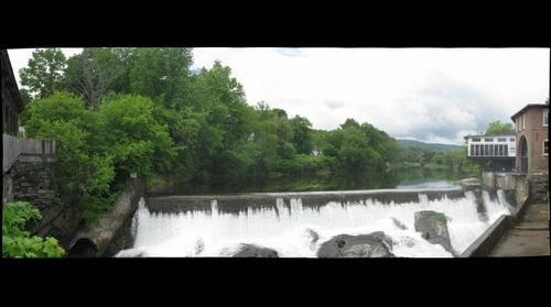 Falls at Quechee, Vermont