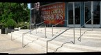 Houston, Texas: Museum of Natural Science - Grand Entrance Patio & Hope of Humanity