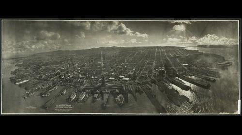 San Francisco in Ruins 1906