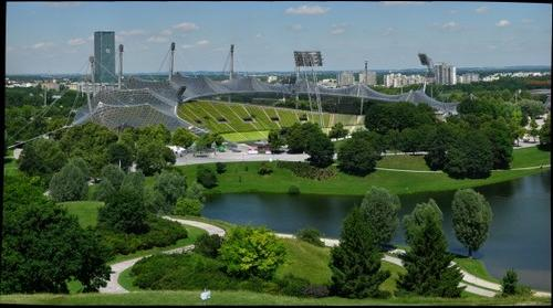 Olympic Stadium from 1972 Munich, Germany