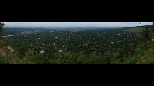 Panorama Point - Boulder, Colorado (Yes, it is actually named Panorama Point)