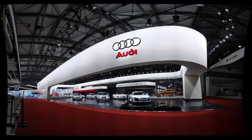 Audi Stand on the Shanghai Motor Show 2009