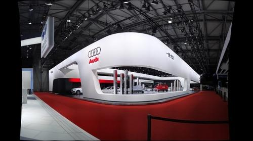 Audi Stand at Shanghai Motor Show 2009