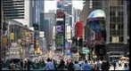 Times Square, New York City, View from 42-43 St on Broadway