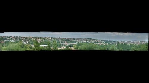 France : Viry-Chatillon en Essonne, vue panoramique 2/2 - 77livres