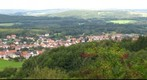 View from Schaumberg on Theley, Saarland, Germany