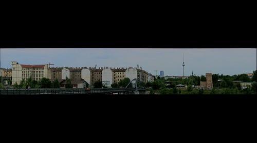 Mauerpark, ostwärts