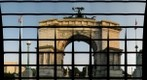 'Grand Army Plaza Memorial Arch - back view'