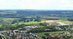 View from Schaumberg on Tholey, Saarland, Germany