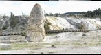 Lower Terraces, Mammoth Hot Springs, Yellowstone N.P., Wyoming