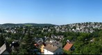 View from Lindenberg in Siegen, North Rhine-Westphalia, Germany