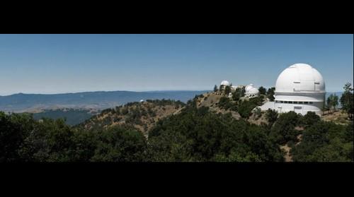 Lick Observatory - Observatory Peak from Kepler Peak