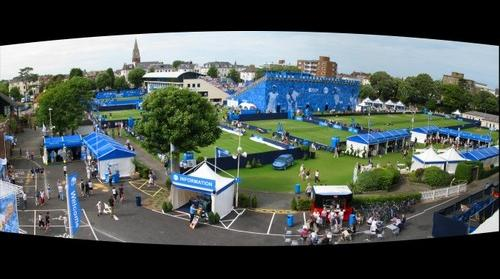 Eastbourne, England Tennis Tournament 17 June 2009