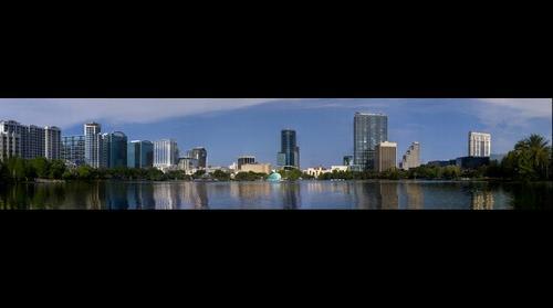 Lake Eola, Orlando, FL