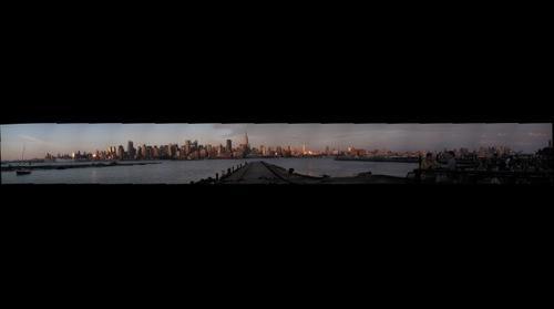 New York Skyline July 4 2009