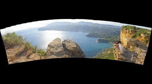 Baie de Cassis depuis la falaise