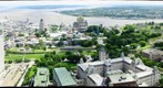 Vieux-Qubec, depuis l&#39;Observatoire de la Capitale
