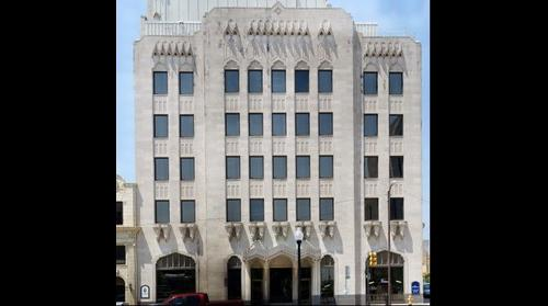 Public Service of Oklahoma Building In Downtown Tulsa Oklahoma