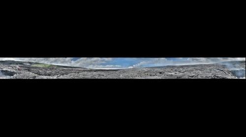 Kilauea - active flowfield - skylight in E tube