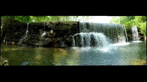 Bondsville Waterfall