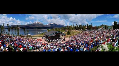 National Repertory Orchestra- Lake Dillon, Colorado, July 4th 2009