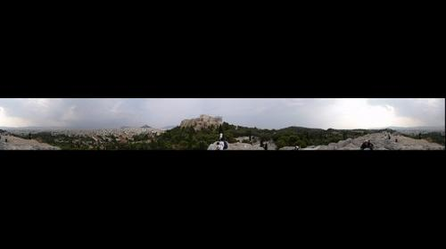 Athens view from Areopagus