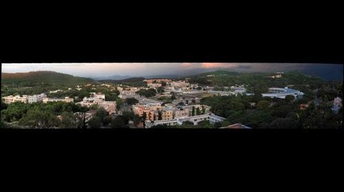 Tirupati Panorama..Seven Hills Temple Andhra Pradesh