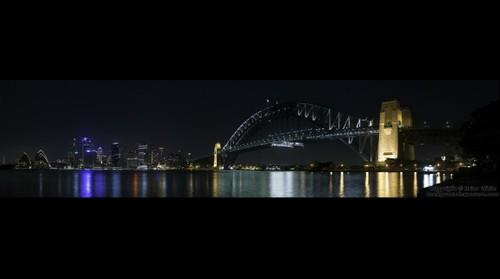Sydney Night Skyline