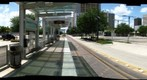 Houston, Texas: MetroRail Redline Bell Station 4/16 - a 360 Panorama