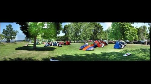 Kiteboarding Malmo Park Minnesota