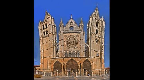 Catedral de León - Frontal (Pulchra Leonina) - Leon (SPAIN)