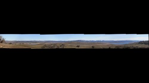 Entering Lake Eucumbene and the Snowy Mountains