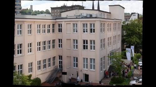 Blick auf FHM und Sparrenburg