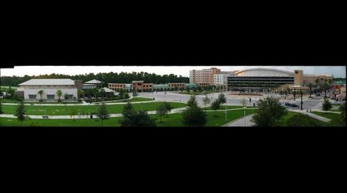UCF Arena on the campus of the University of Central Florida in Orlando Fl