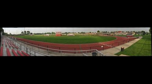 Granite City High School Football Field, Track