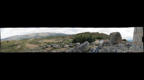Sierra de Béjar desde La Peña de la Cruz