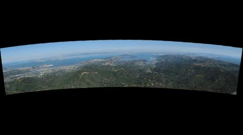 view from Mt. Tamalpais