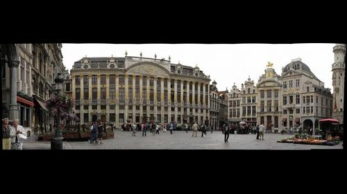 Grand'Place, Brussels (BELGIUM)