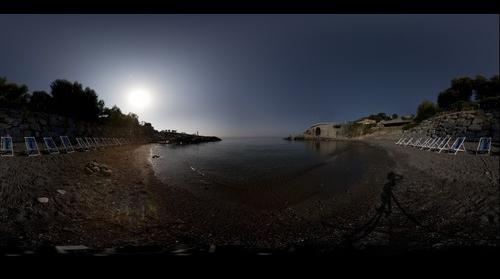 spiaggetta  del VILLAGGIO DEI FIORI