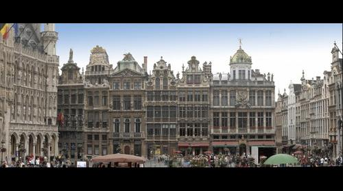 Grand'Place in Brussels, Belgium