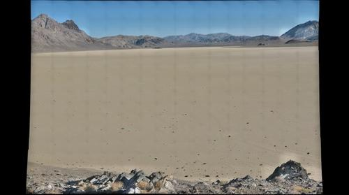 Racetrack Playa, Death Valley National Monument 7_13_09, 7:45am-8:15am