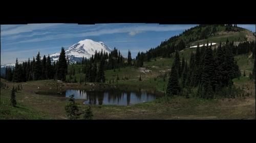 Mt. Rainier from Naches Peak