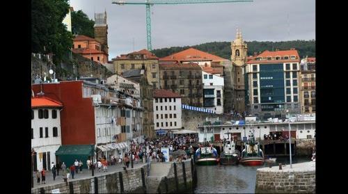 Donostia - San Sebastian, la tarde en el puerto