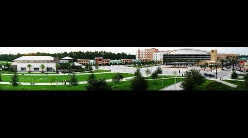 Arena at the University of Central Florida near Oralndo Florida
